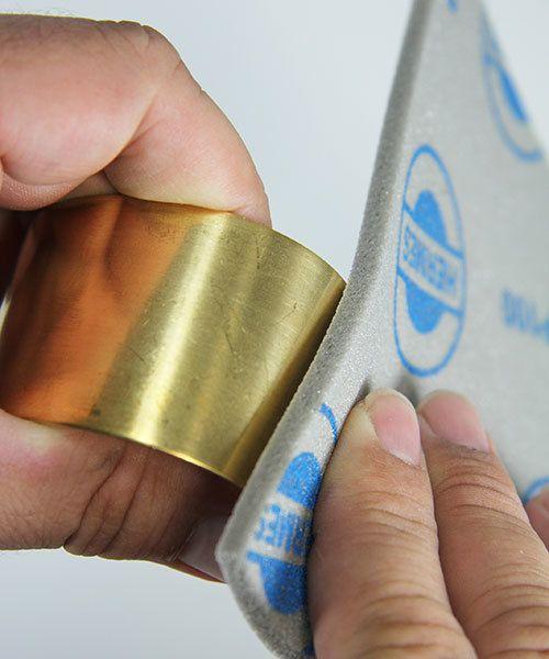 EM6002 = Sanding Sponges, Foam Rubber/Aluminum Oxide 100 grit (Pkg of 5)