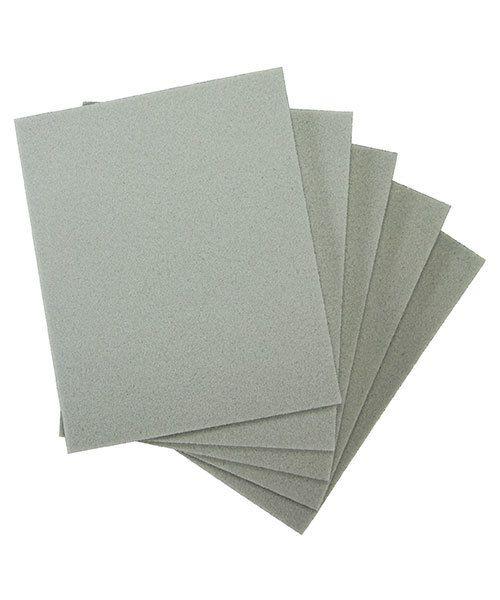 EM6003 = Sanding Sponges, Foam Rubber/Aluminum Oxide 180 grit (Pkg of 5)