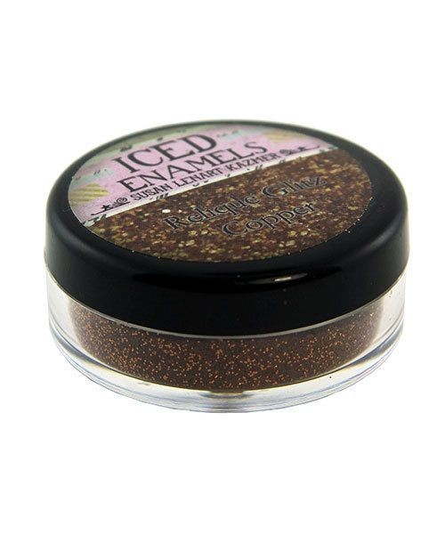 CE91053 = Iced Enamels Relique Glitz, Copper 15ml