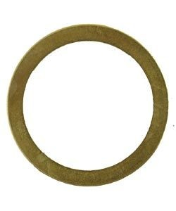 CL250-03 = BRASS SIGHT GLASS WASHER for REIMERS STEAMER  (#02448) (Pkg of 2)