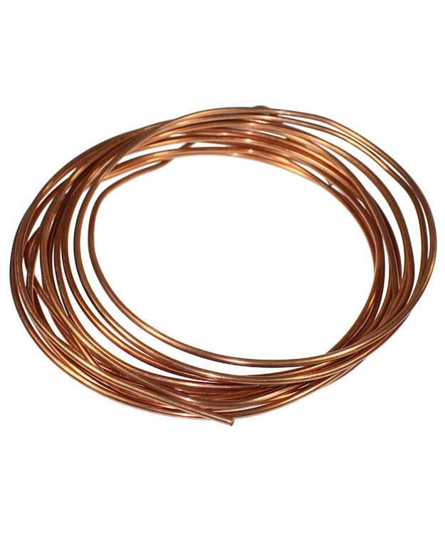 CRW06 = Copper Wire 6ga Round 4.1mm  (Foot)