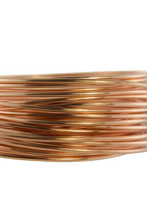 CRW14 = Copper Wire 14ga Round 1.63mm 1/4lb Spool