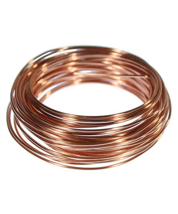 CRW16 = Copper Wire 16ga Round 1.3mm 1/4lb Spool