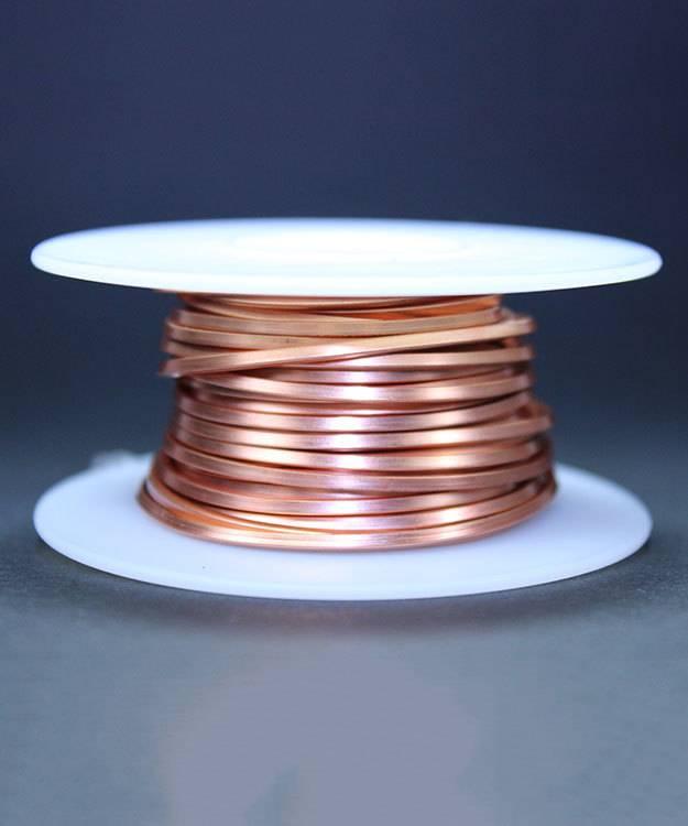 CSW14 = Copper Square Wire 14ga 1.63mm Soft (Approx. 15ft)