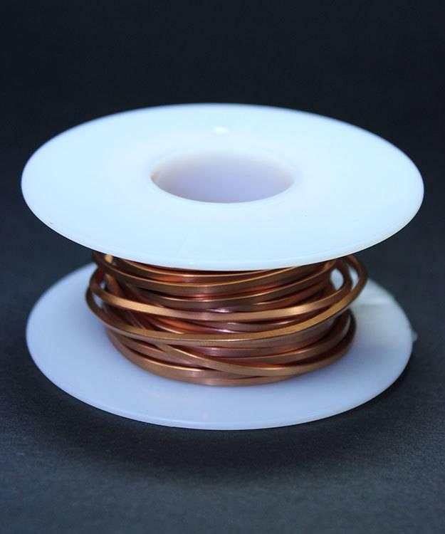 CSW14H = Copper Square Wire 14ga 1.63mm Half Hard (Approx. 15ft)