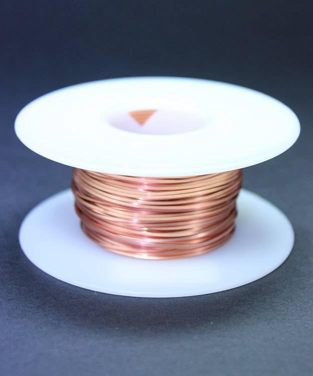 CSW20 = Copper Square Wire 20ga 0.81mm Soft (Approx. 61ft)