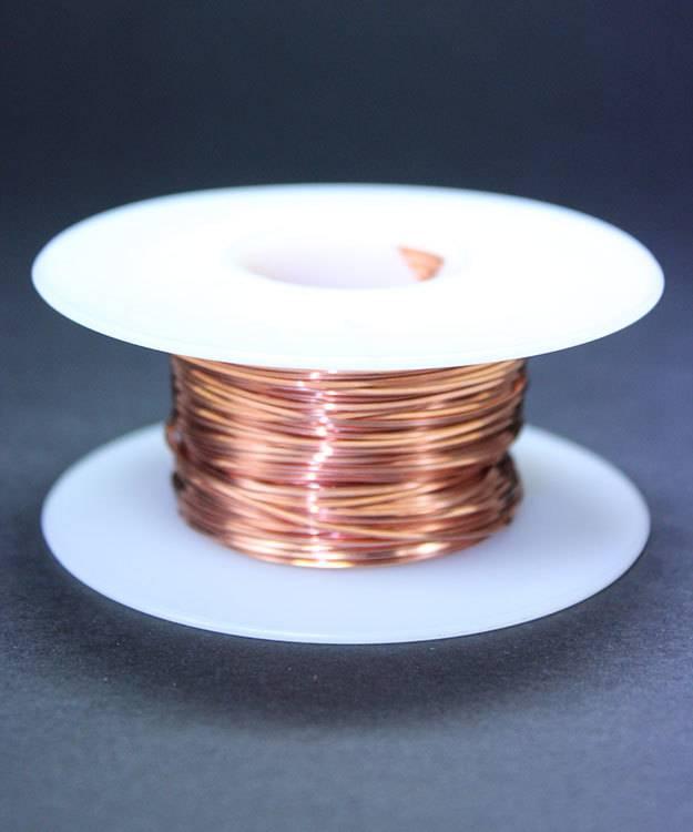 CSW22H = Copper Square Wire 22ga 0.64mm Half Hard (Approx. 96.3ft)