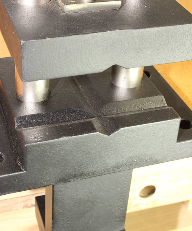 Eurotool AN6014 = Forming Stake Vise by Eurotool