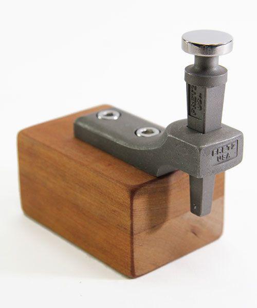 Fretz Designs AN8000-M7 = Fretz M-7 Mushroom Stake Flat with Rolled Edge 18mm