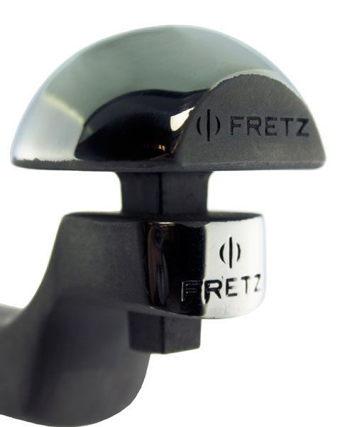 AN8211 = Fretz M-111 40mm Convex Cuff Stake 36mm Long