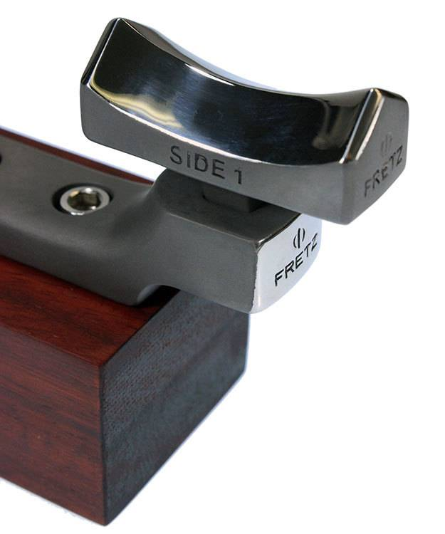 Fretz Designs AN8233B = Fretz M-133B Finishing Concave Fluting Stake