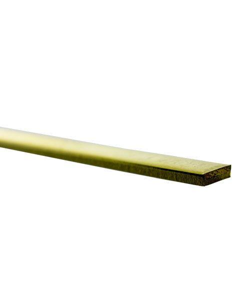 BFW01 = FLAT STRIP BRASS 12'' LONG 0.090'' x 1/4''