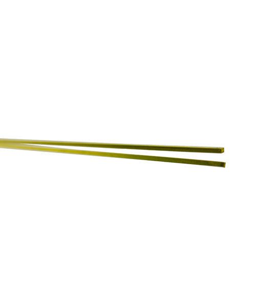 BSW20 = SQUARE ROD BRASS 12'' LONG 1/32'' OD card of 2pcs