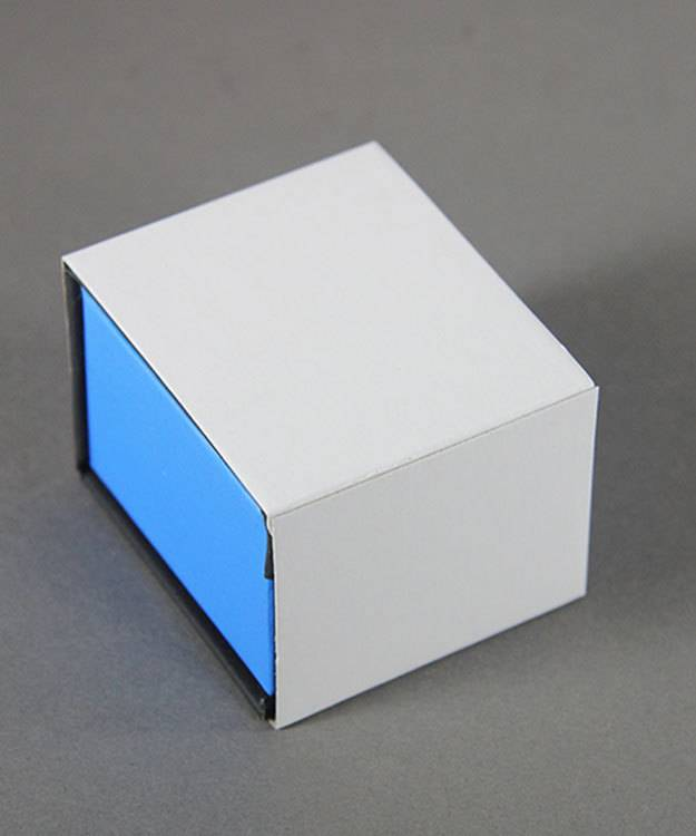 DBX4050 = Deluxe Magnetic Blue/Black Ring Box 1-7/8'' x 2-1/4'' x 1-1/2'' (Each)