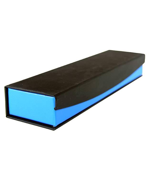 DBX4053 = Deluxe Magnetic Bracelet/Watch Blue/Black Box 8-3/4'' x 2-1/4'' x 1'' (Each)