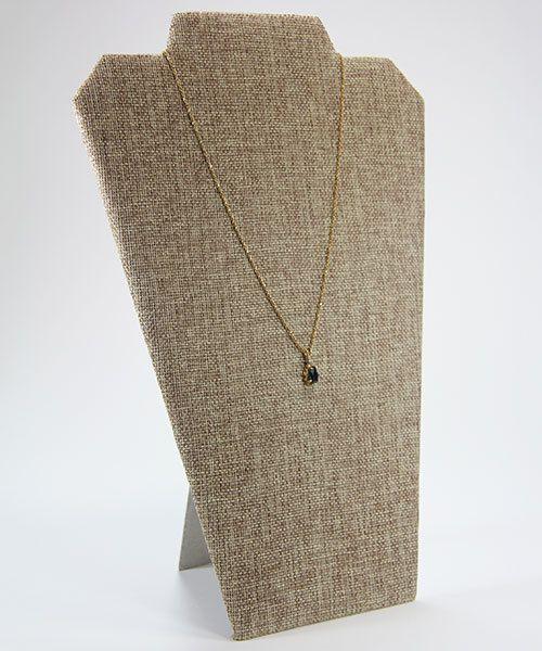 DCH3602 = Burlap Necklace Easel 8-1/4'' wide x 12'' high