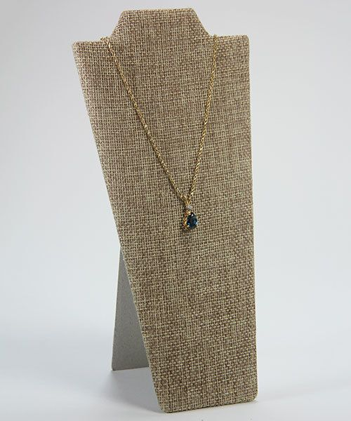 DCH3670 = Burlap Necklace Easel 4'' wide x 8'' high (Pkg of 6)