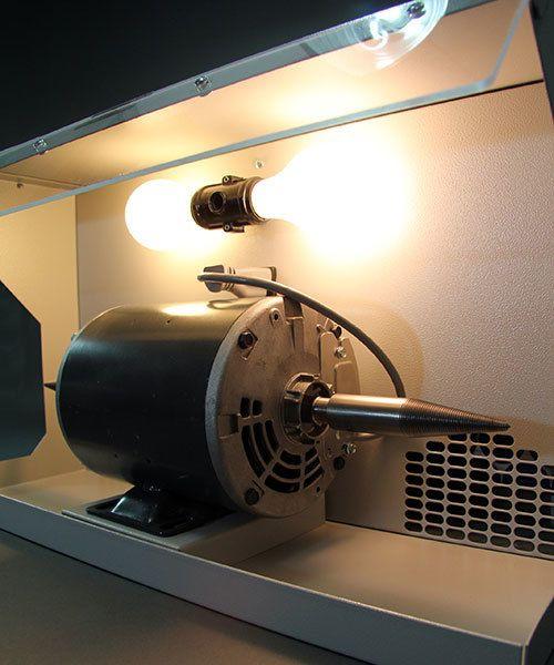 Handler Mfg 47.2025 = Dust Collector by Handler with 1/2hp Motor (Model 76M)