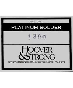 SPT1300 = SOLDER PLATINUM SHEET HARD