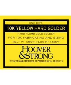 SP10YH = SOLDER 10KT PLUMB YELLOW HARD