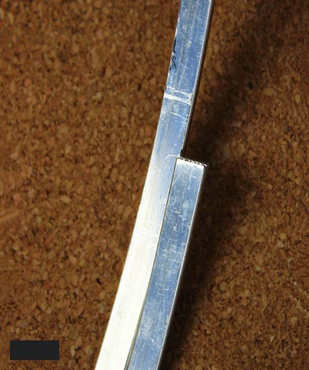 SFW5020 = Sterling Rectangular Wire 5 x 2mm Dead Soft (Sold per foot)