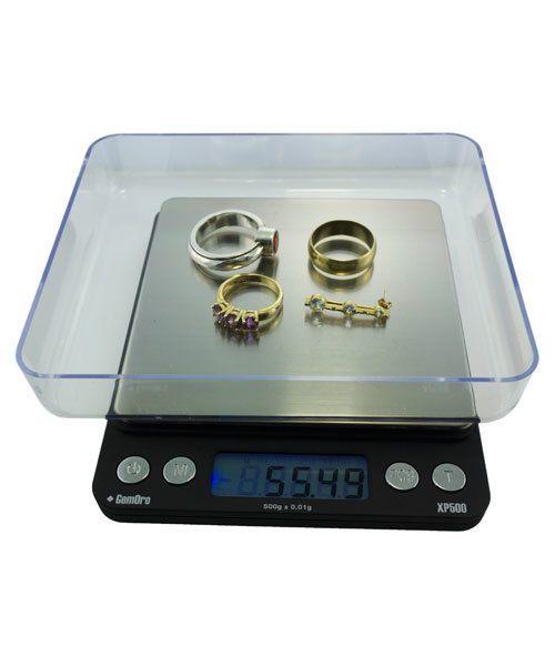 GemOro SC9776 = GemOro Pocket Scale ''Platinum XP500'' - 500grams x 0.01g
