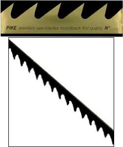 49.452D = Pike Brand Jewelers Swiss Sawblades #4 (Dozen)