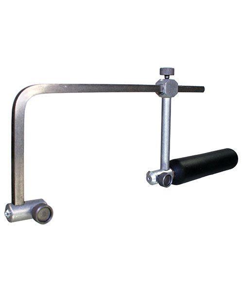 """Grobet USA 49.720 = Grobet Adjustable Swiss Saw Frame - 2-3/4"""" Depth"""