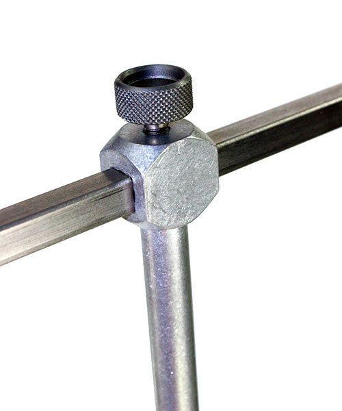 Grobet USA 49.724 = Grobet Adjustable Swiss Saw Frame - 4'' Depth