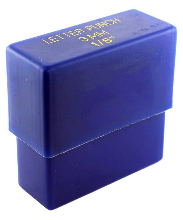 PN943 = Franklin Gothic Letter Punch Set A thru Z  3mm Imprint