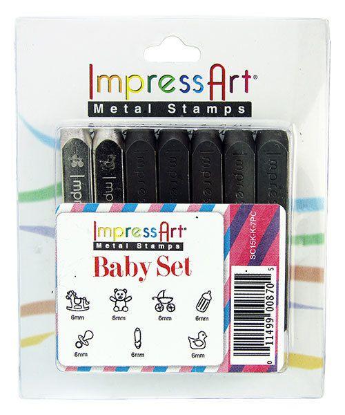 PN6989 = Impressart Design Stamp Pack ''Baby'' - 7pcs