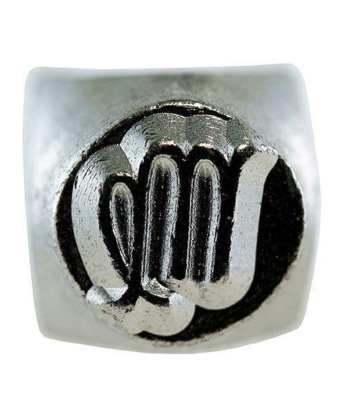 PN6461 = ImpressArt Design Stamp - virgo zodiac sign 6mm