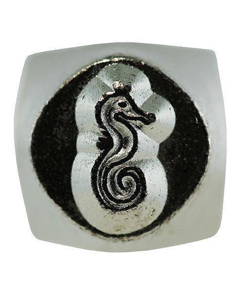 PN6451 = ImpressArt Design Stamp - sea horse 6mm