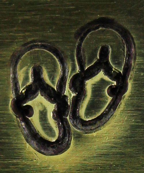 PN6444 = ImpressArt Design Stamp - sandals 6mm