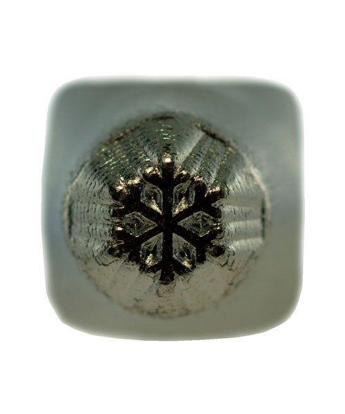PN6408 = ImpressArt Design Stamp - snow flake small 3mm