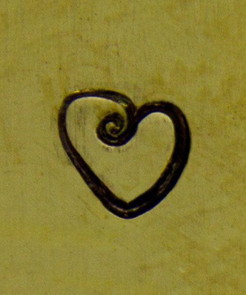 PN6369 = ImpressArt Design Stamp - fat heart 6mm