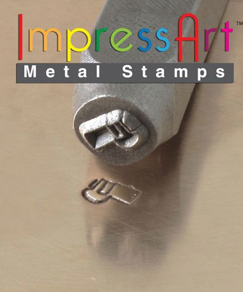 PN6358 = ImpressArt Design Stamp - whistle 6mm