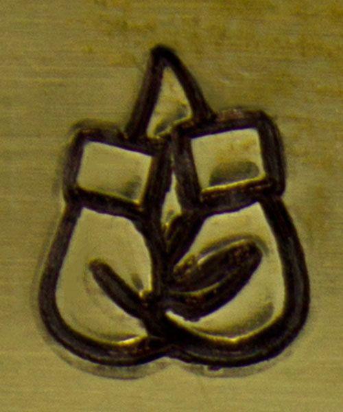 PN6356 = ImpressArt Design Stamp - boxing gloves 6mm