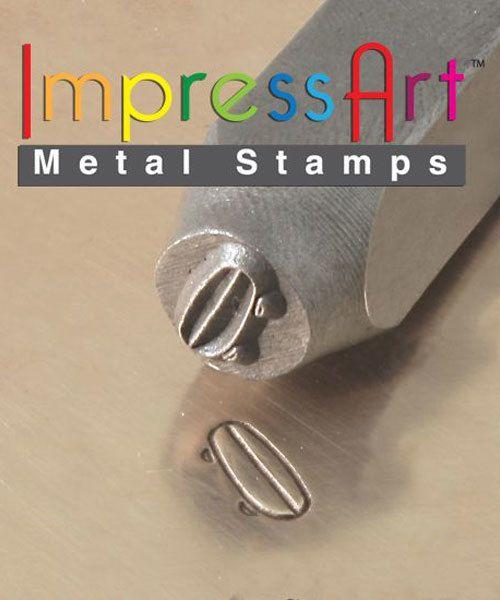 PN6352 = ImpressArt Design Stamp - skateboard 6mm