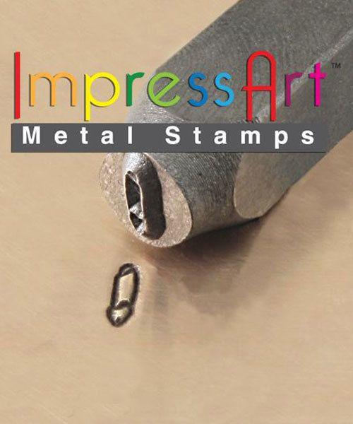 PN6307 = ImpressArt Design Stamp - safety pin 6mm