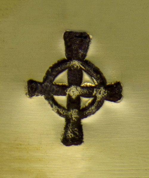 PN6296 = ImpressArt Design Stamp - celtic symbol 6mm