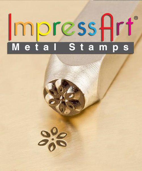 PN6274 = ImpressArt Design Stamp - lily 6mm