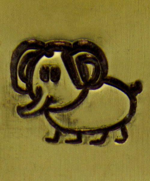 PN6258 = ImpressArt Design Stamp - elephant 6mm