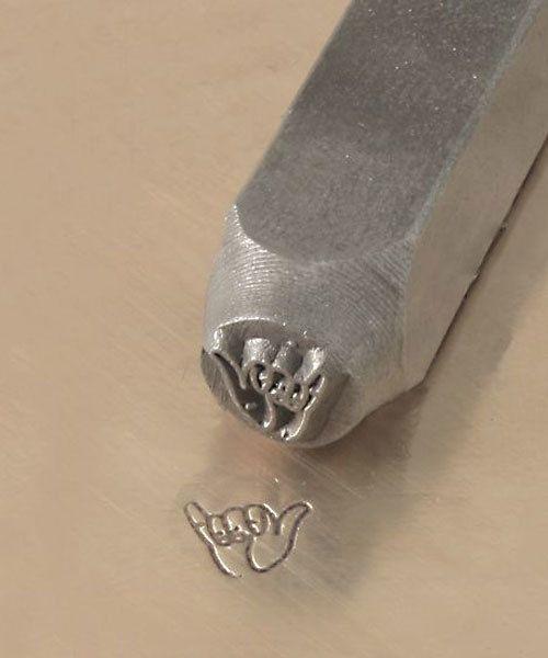 PN6200 = ImpressArt Design Stamp - hang loose 6mm