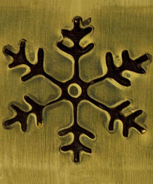PN5715 = DESIGN STAMP ELITE JUMBO 10mm - snowflake