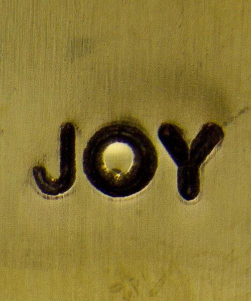 PN5693 = DESIGN STAMP 6mm - joy