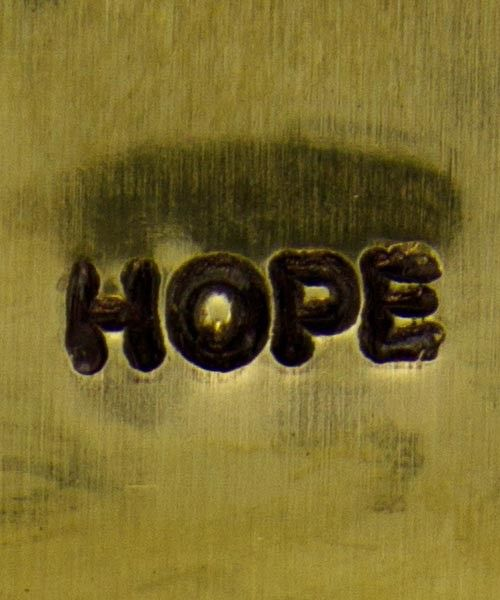 PN5692 = DESIGN STAMP 6mm - hope