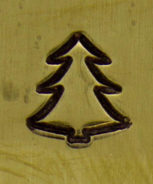 PN5684 = DESIGN STAMP 6mm - christmas tree