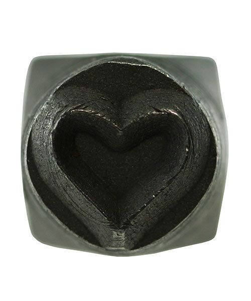 PN5646 = DESIGN STAMP 6mm - heart