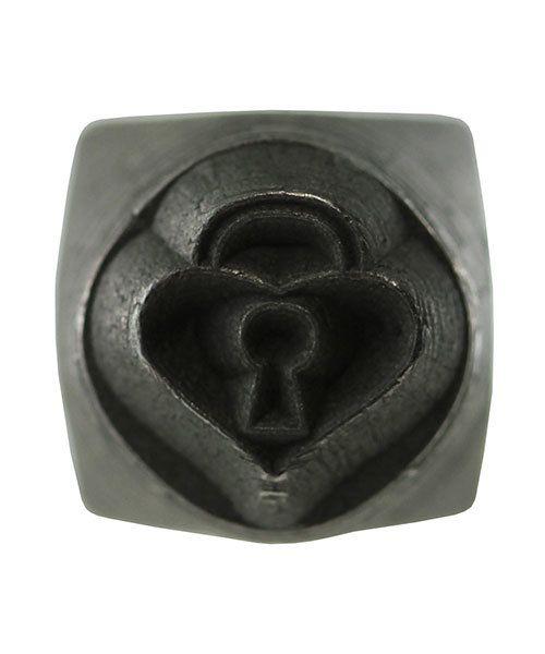 PN5635 = DESIGN STAMP 6mm - padlock